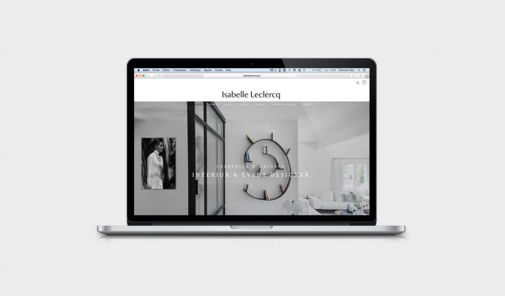 Charlotte Dion Isabelle Leclercq Graphiste webdesigner Bruxelles site internet communication logo graphisme designer