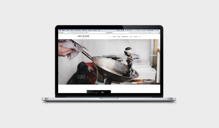 Charlotte Dion restaurant bruxelles Graphiste webdesigner logo graphisme designer