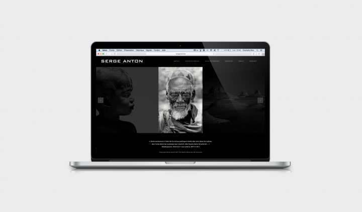Serge Anton Charlotte Dion Photographe graphiste webdesigner webdesign logo communication Bruxelles